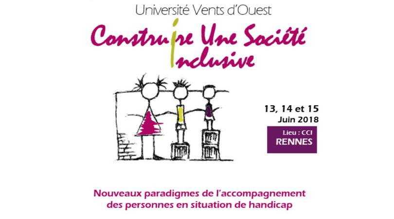 Journées Université de Printemps à RENNES le 13 juin 2018